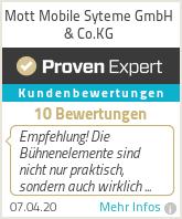 Erfahrungen & Bewertungen zu Mott Mobile Syteme GmbH & Co.KG