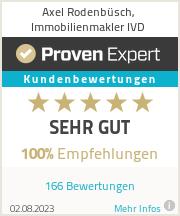 Erfahrungen & Bewertungen zu Axel Rodenbüsch, Immobilienmakler IVD