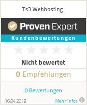 Erfahrungen & Bewertungen zu Ts3 Webhosting