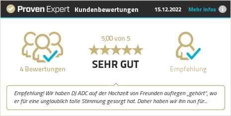 Kundenbewertungen & Erfahrungen zu DJ ADC Bochum. Mehr Infos anzeigen.