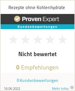 Erfahrungen & Bewertungen zu Rezepte ohne Kohlenhydrate