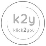 k2y- klick2you logo