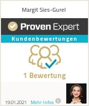 Erfahrungen & Bewertungen zu Margit Sies-Gurel