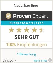 Erfahrungen & Bewertungen zu Modellbau Breu