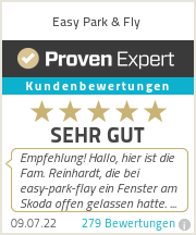 Erfahrungen & Bewertungen zu Easy Park & Fly