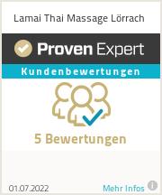 Erfahrungen & Bewertungen zu Lamai Thai Massage Lörrach