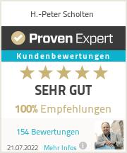 Erfahrungen & Bewertungen zu H.-Peter Scholten