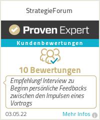 Erfahrungen & Bewertungen zu StrategieForum
