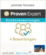 Erfahrungen & Bewertungen zu Jaroslaw Soczawa