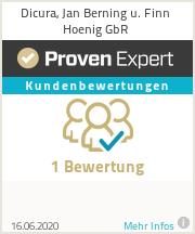 Erfahrungen & Bewertungen zu Dicura, Jan Berning u. Finn Hoenig GbR