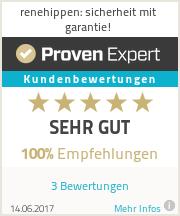 Erfahrungen & Bewertungen zu renehippen: sicherheit mit garantie!