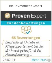 Erfahrungen & Bewertungen zu IBY Investment GmbH