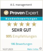 Erfahrungen & Bewertungen zu A.S. management