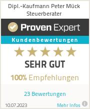Erfahrungen & Bewertungen zu Dipl.-Kaufmann Peter Mück Steuerberater
