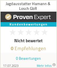Erfahrungen & Bewertungen zu Jagdausstatter Hamann & Losch GbR