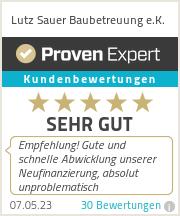 Erfahrungen & Bewertungen zu Lutz Sauer Baubetreuung e.K.