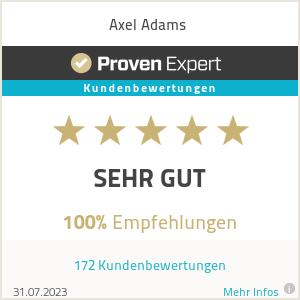 Erfahrungen & Bewertungen zu Just Axel