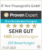 Erfahrungen & Bewertungen zu IF Ihre Finanzprofis GmbH