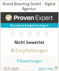 Erfahrungen & Bewertungen zu Brand Boosting