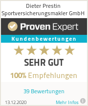 Erfahrungen & Bewertungen zu Dieter Prestin Sportversicherungsmakler GmbH