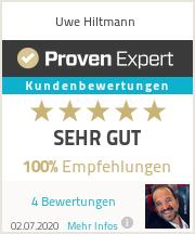 Erfahrungen & Bewertungen zu Uwe Hiltmann