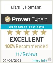Erfahrungen & Bewertungen zu Mark T. Hofmann