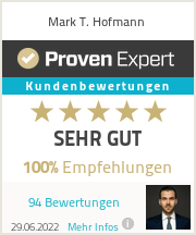 Ratings & reviews for Mark T. Hofmann