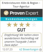 Erfahrungen & Bewertungen zu Erlebnistouren Köln & Region - Tour-Agentur