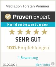 Erfahrungen & Bewertungen zu Mediation Torsten Pommer
