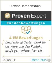 Erfahrungen & Bewertungen zu Kevins-lampenshop