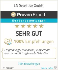 Erfahrungen & Bewertungen zu LB Detektei GmbH & Co. KG