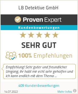 Erfahrungen & Bewertungen zu LB Detektive GmbH