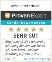 Erfahrungen & Bewertungen zu investmentheld.de