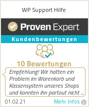 Erfahrungen & Bewertungen zu WP Support Hilfe