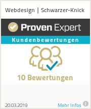 Erfahrungen & Bewertungen zu Webdesign | Schwarzer-Knick