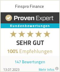 Erfahrungen & Bewertungen zu Finspro Finance