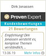 Erfahrungen & Bewertungen zu Dirk Jonassen