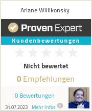 Erfahrungen & Bewertungen zu Ariane Willikonsky