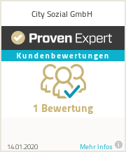 Erfahrungen & Bewertungen zu City Sozial GmbH