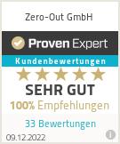 Erfahrungen & Bewertungen zu Zero-Out GmbH