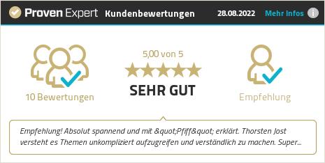 Kundenbewertungen & Erfahrungen zu Thorsten Jost. Mehr Infos anzeigen.