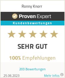 Erfahrungen & Bewertungen zu Ronny Knorr