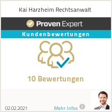 Erfahrungen & Bewertungen zu Abmahnung was tun? | Kai Harzheim Rechtsanwalt