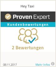 Erfahrungen & Bewertungen zu Hey Taxi