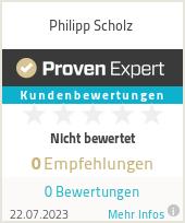 Erfahrungen & Bewertungen zu Philipp Scholz