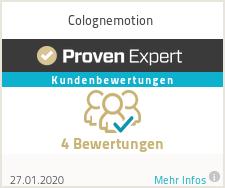Erfahrungen & Bewertungen zu Colognemotion