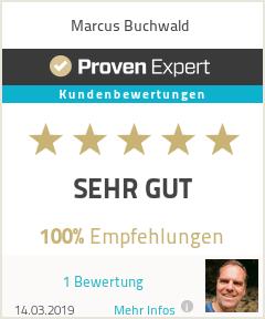 Erfahrungen & Bewertungen zu Marcus Buchwald