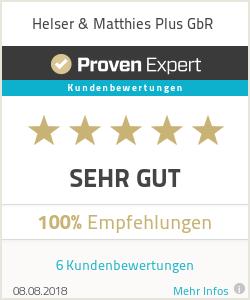 Erfahrungen & Bewertungen zu Helser & Matthies Plus GbR