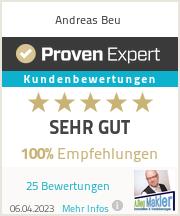 Erfahrungen & Bewertungen zu Andreas Beu