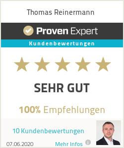 Erfahrungen & Bewertungen zu Thomas Reinermann